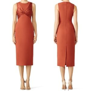 Cinq a Sept Adelise Dress in Tobacco
